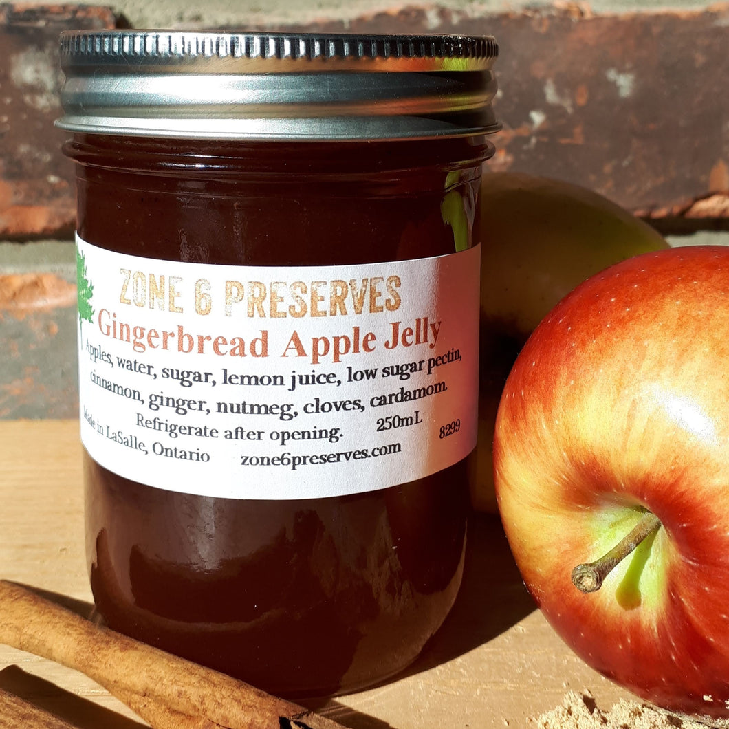 Gingerbread Apple Jelly