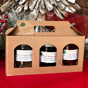 Wine Jelly Trio Gift Set