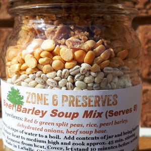 Beef Barley Soup Mix