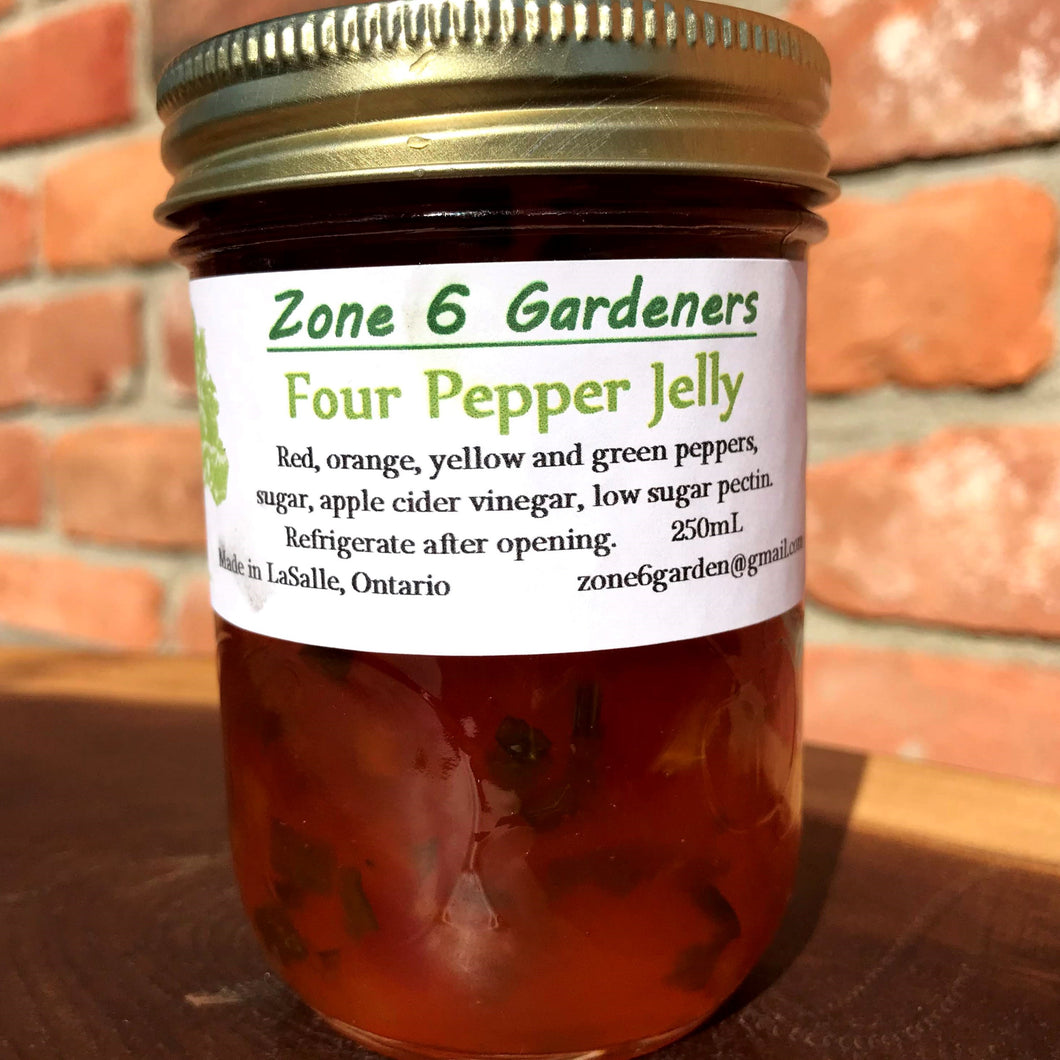 Four Pepper Jelly