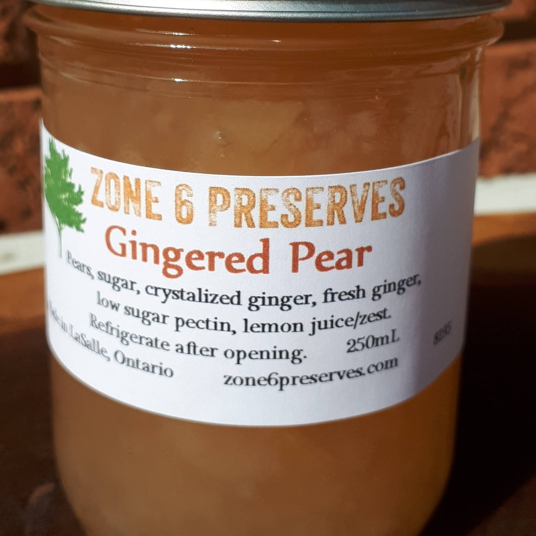 Gingered Pear Jam