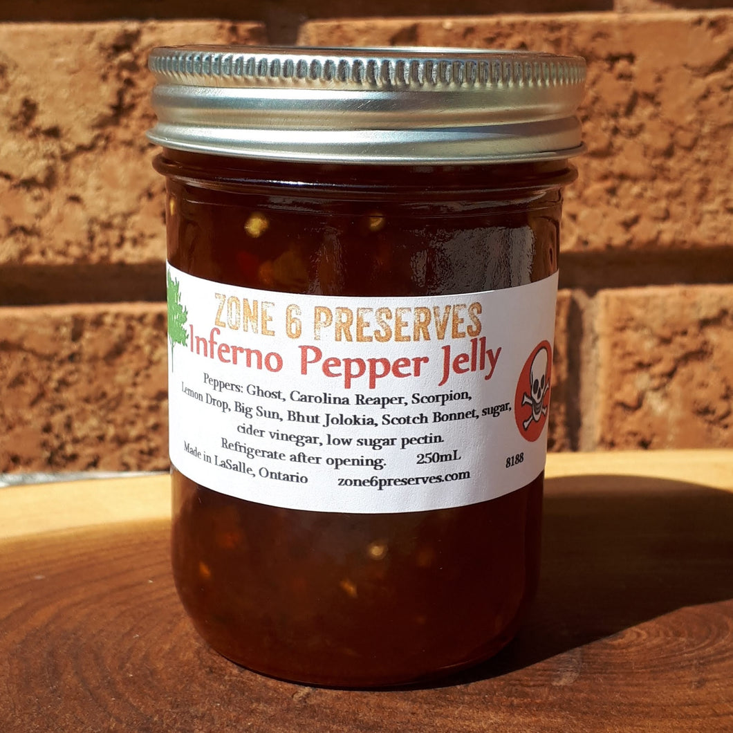 Inferno Pepper Jelly