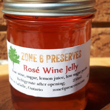Load image into Gallery viewer, Rose Wine Jelly