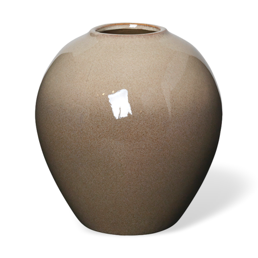 Broste Ceramic Ingrid Vase Medium Taupe