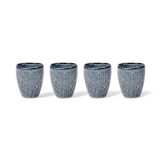 Broste Nordic Sea Stoneware Espresso Cups Set of 4