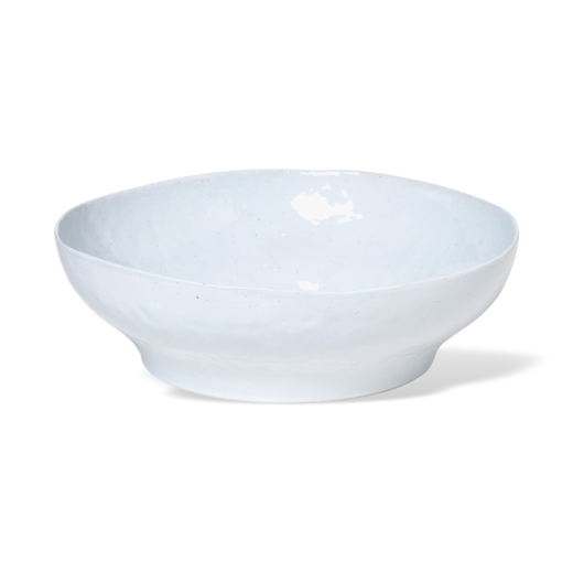 Broste Porcelain Shape Bowl Soft Grey Large