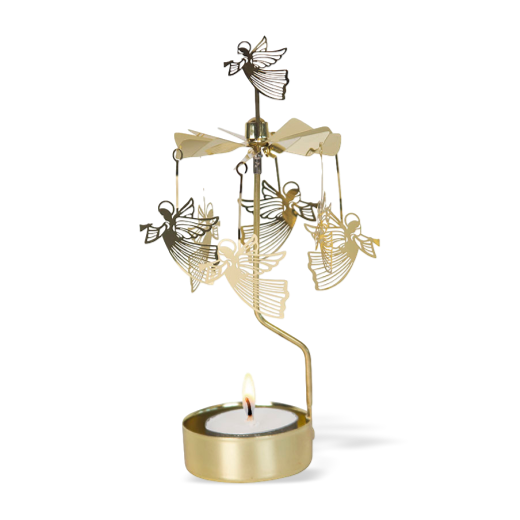 Pluto Rotary Candle Holder Flying Angel