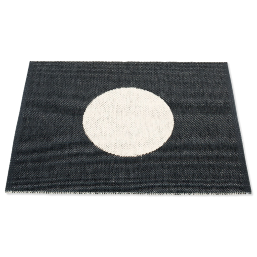 Pappelina Vera Small One Rug Black