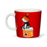 Arabia Moomin Mug Little My Red