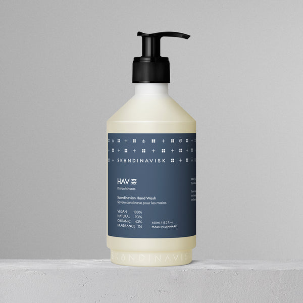 Skandinavisk Hav (Distant Shores) 450ml Organic Hand Wash