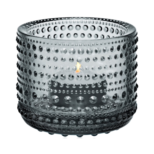 Iittala Kastehelmi Votive 64mm: Grey