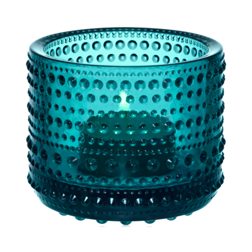 Iittala Kastehelmi Votive 64mm: Sea Blue