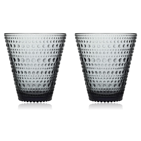 Iittala Kastehelmi Tumbler 30cl Set of 2: Grey