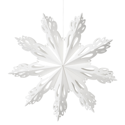 Broste Paper Snowflake Decoration White Large