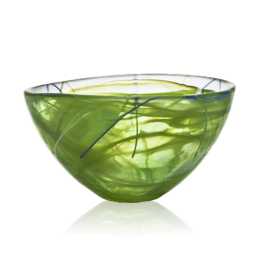 Kosta Boda Contrast Bowl Small Lime