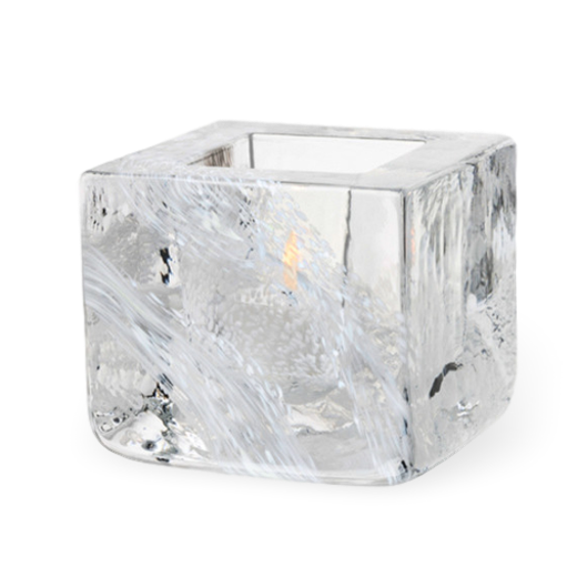 Kosta Boda Brick Votive White