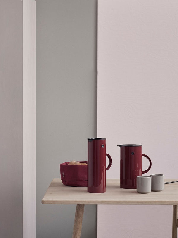 Stelton Bread Bag Warm Maroon