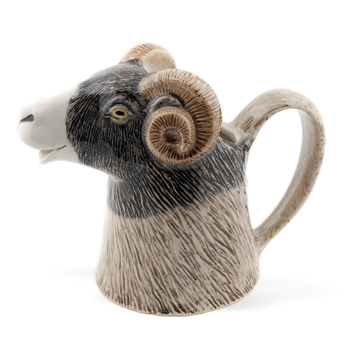 Quail Designs Swaledale Sheep Jug: Large