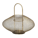 Broste Bodis Brass Finish Lantern