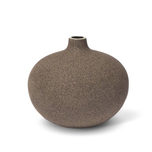 Lindform Bari Vase Dark Sand Small