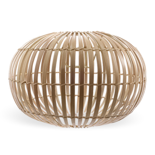 Broste Pendant Lampshade Zep Bamboo Small