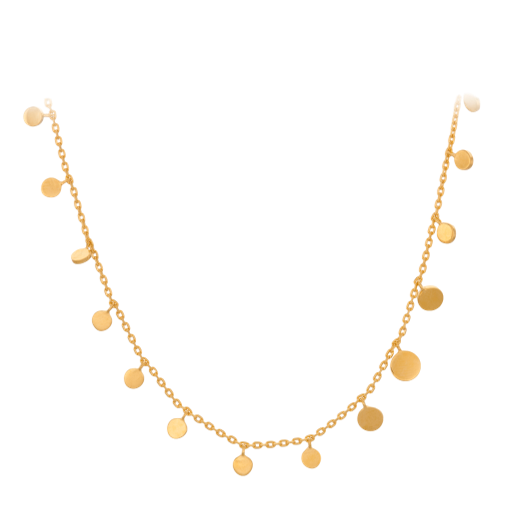 Pernille Corydon Sheen Necklace Gold Plated