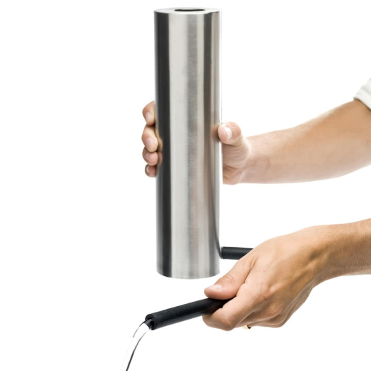 Born In Sweden Watering Can Brushed Steel
