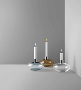 Kosta Boda Pluto Candle Holder Clear