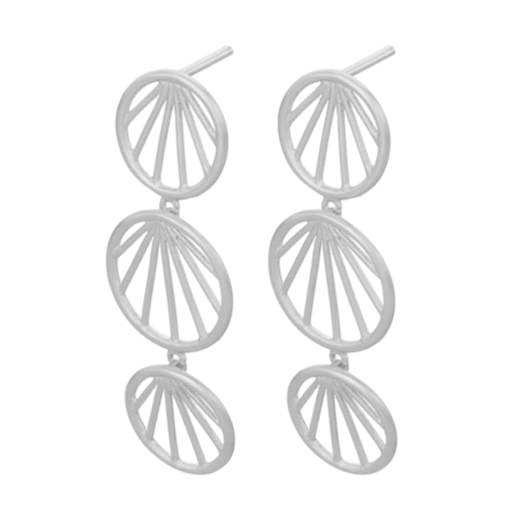 Pernille Corydon Sunray Earrings Silver