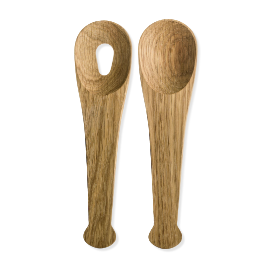 Sagaform Nature Salad Servers Oak