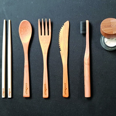 Cookut Bam Bam Bamboo Eating Set