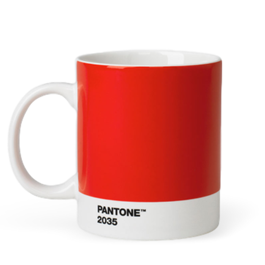 Copenhagen Design Pantone Living Mug Red 2035