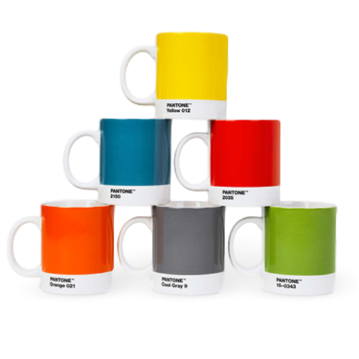 Copenhagen Design Pantone Living Mug Orange 021