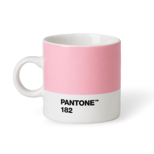 Copenhagen Design Pantone Living Espresso Cup Light Pink 182