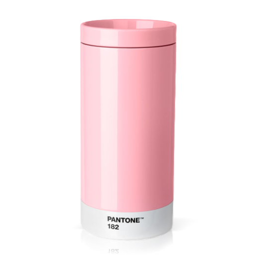 Copenhagen Design Pantone Living To Go Cup Light Pink 182