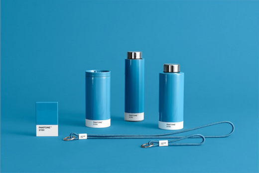 Copenhagen Design Pantone Living To Go Cup Blue 2150