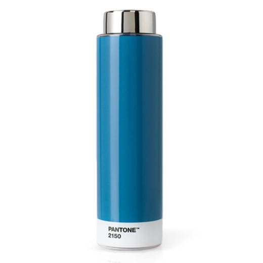 Copenhagen Design Pantone Living Steel Drinking Bottle Blue 2150