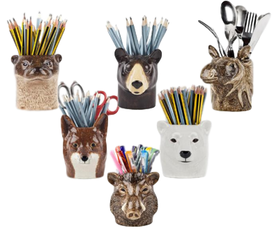 Quail Designs Badger Pencil Pot