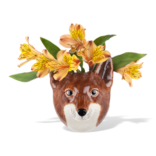 Quail Designs Fox Wall Vase