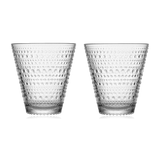 Iittala Kastehelmi Tumbler 30cl Set of 2: Clear