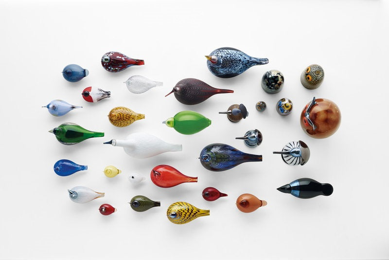 Iittala Birds By Toikka Glass Sky Curlew