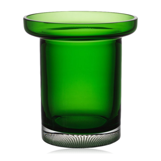 Kosta Boda Limelight Tulip Vase Apple Green