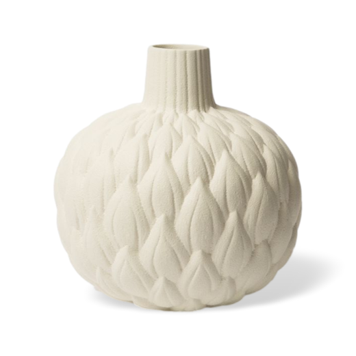 Lindform Astrid Relief Vase White