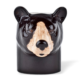 Quail Designs Black Bear Pencil Pot