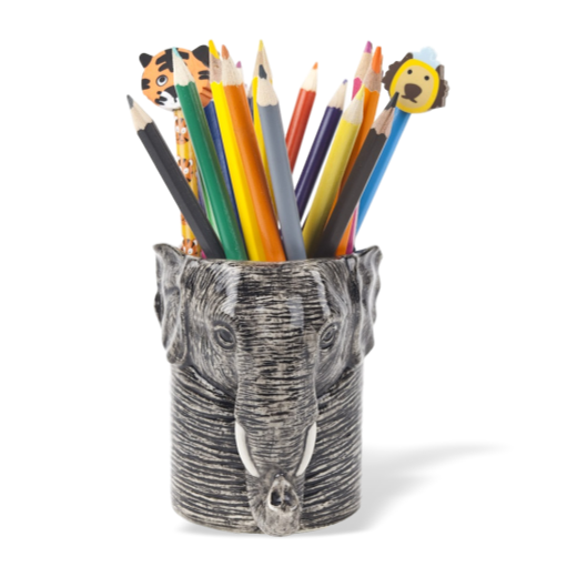 Quail Designs Elephant Pencil Pot