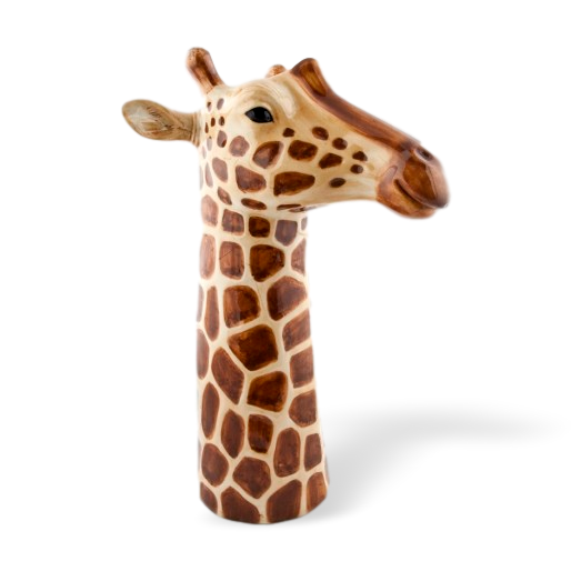 Quail Designs Giraffe Tall Flower Vase