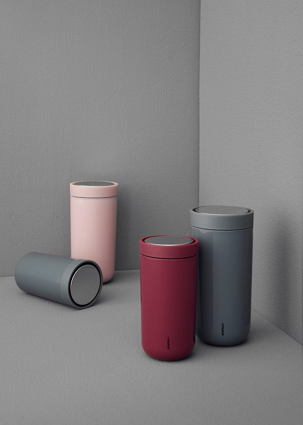 Stelton To Go Click Steel Cup Cloud