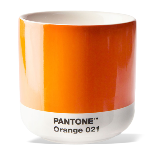 Copenhagen Design Pantone  Living Thermo Cup Orange 012