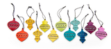 Design Ideas Alpine Ornaments Finial Set of 24
