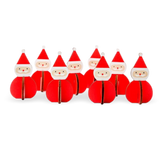 Design Ideas Nordic Santa Set of 8 Mini